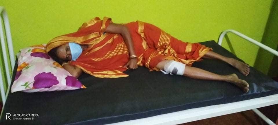 किस्ता नतिरेको भन्दै लघुबित्तका कर्मचारी मिलेर महिलामाथि निर्घात कुटपिट !