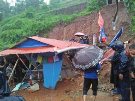 धरानमा पहिरोले घर पुरिँदा दुई बालबालिकाको मृत्यु